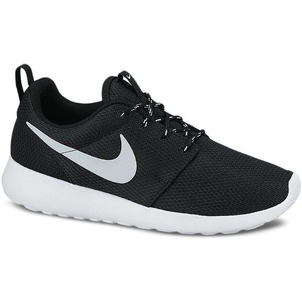 new concept 56c75 29e11 Nike Rosherun Sneakers ( 75) ❤ liked on Polyvore featuring shoes, sneakers,  nike, sapatos, nike trainers, nike shoes, heart shoes and nike footwear