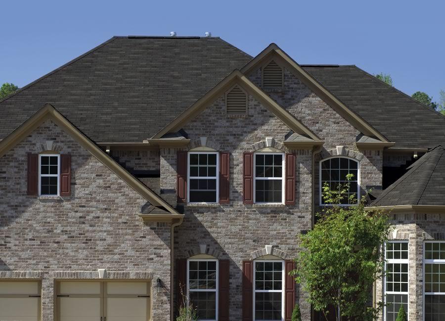 Best Glassmaster® 3 Tab Roofing Shingles Hearthstone Gray 400 x 300