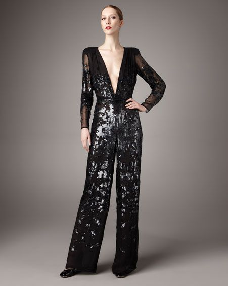 Breaktime From Dresses Clothing Jumpsuit Sequins Sequin Jumpsuit