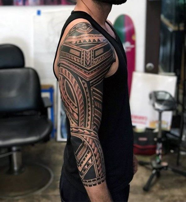 5e2379756 Discover emblems of warriors to spiritual healers with the top 50 best badass  tribal tattoos for men. Explore cool manly design ideas.