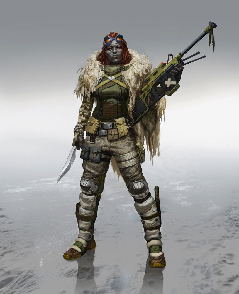 Calista Sniper Picture Big By Sixmorevodka Concept Art Characters Cyberpunk Character Warrior Woman