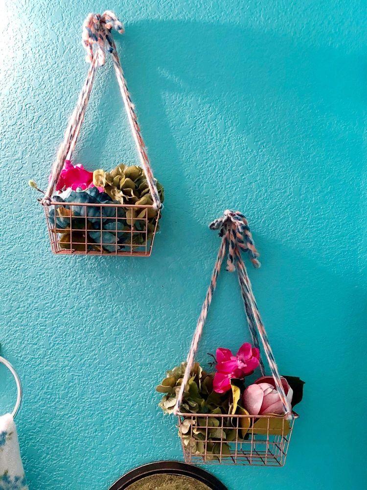 Diy hanging basket hanging baskets diy diy hanging