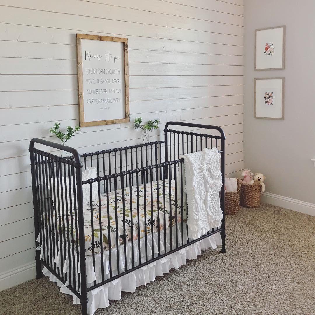 Abigail 3 In 1 Convertible Crib Baby Room Design Black Crib