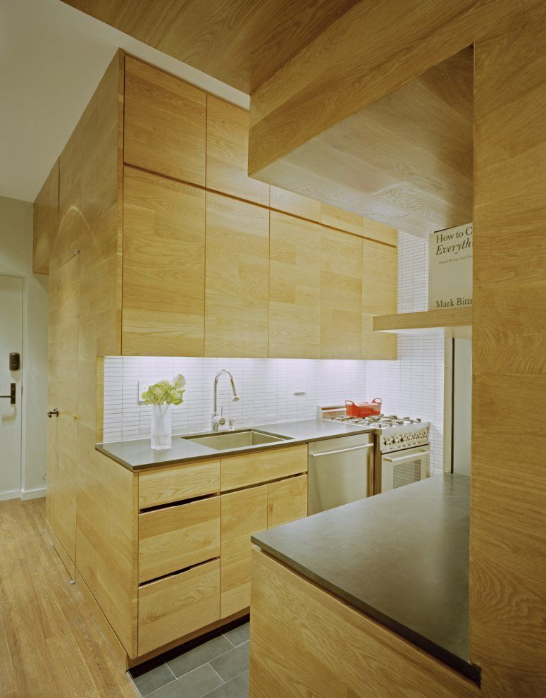 Small Manhattan Studio Displaying A Clever Layout Small