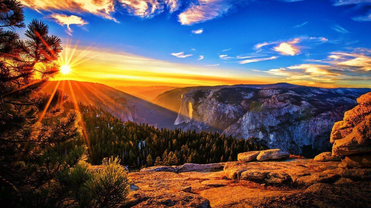 This Majestic Land Michael Hoppe Sunrise Wallpaper Sunset Landscape Landscape Wallpaper