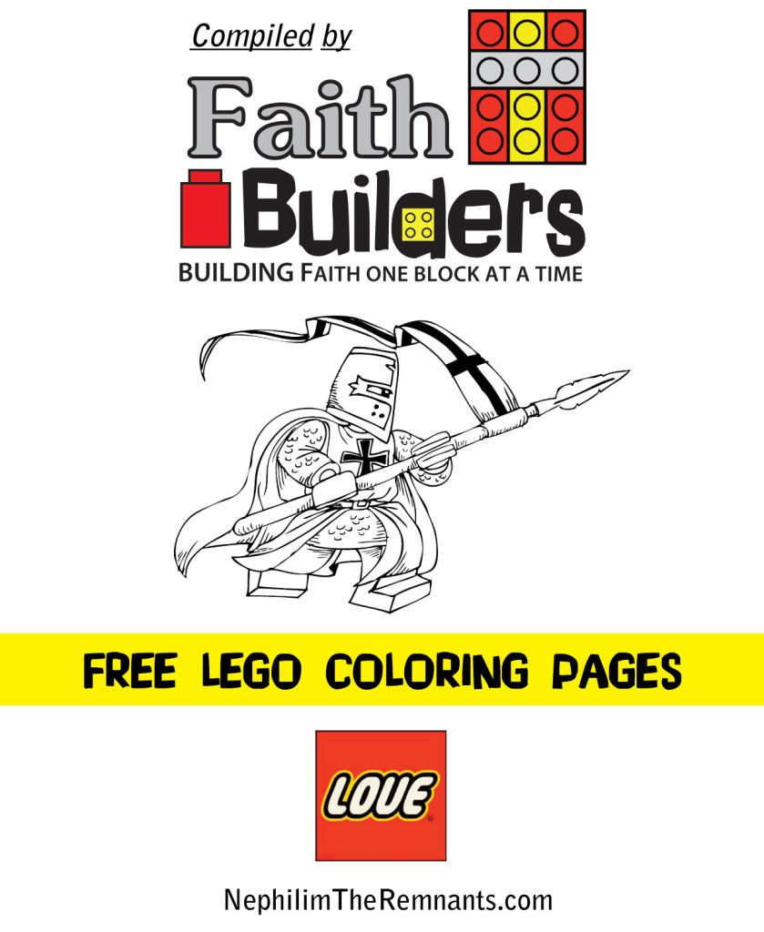 Over 100 Free Lego Coloring Pages!!! Complied by www