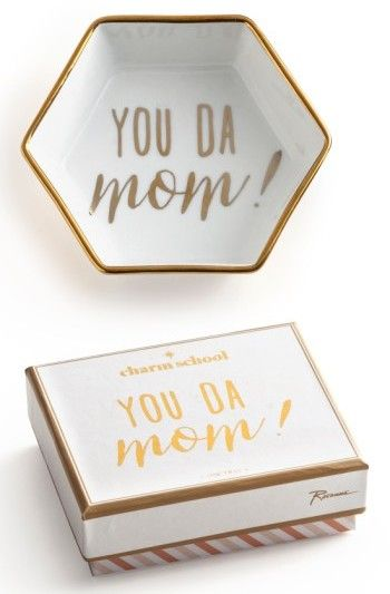rosanna you da mom porcelain trinket tray perfect for a simple and cheap christmas gift for mom ad gift guide pinterest trays porcelain and gift