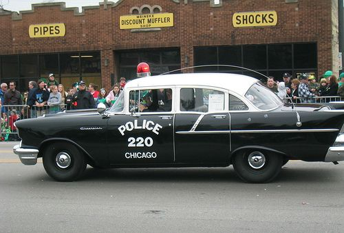 1957 old chicago police car chevrolet by skeggy via flickr police fire rescue vehicles. Black Bedroom Furniture Sets. Home Design Ideas