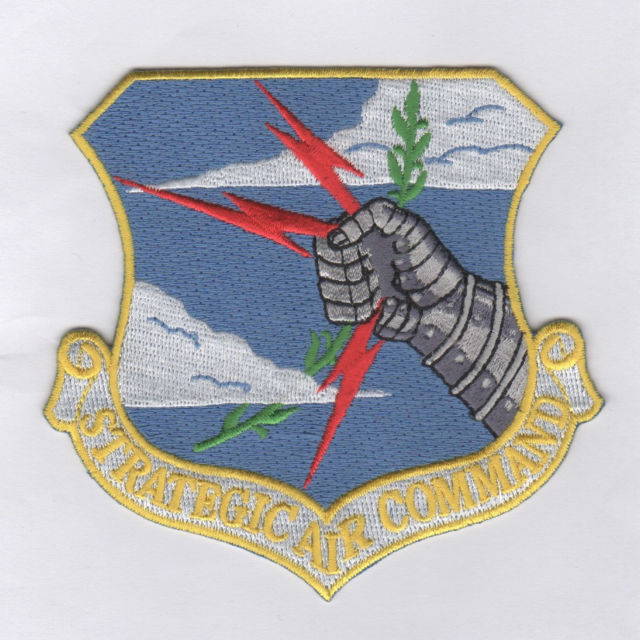 USAF Patch Strategic Air Command 1968 Version Remake for