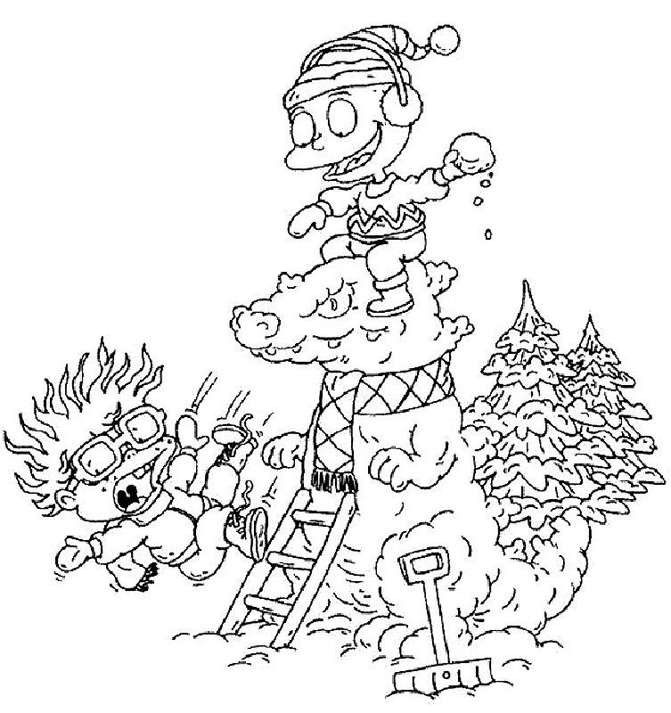 Rugrats Christmas Coloring Pages Coloring Pages Lego Coloring Pages Cartoon Coloring Pages
