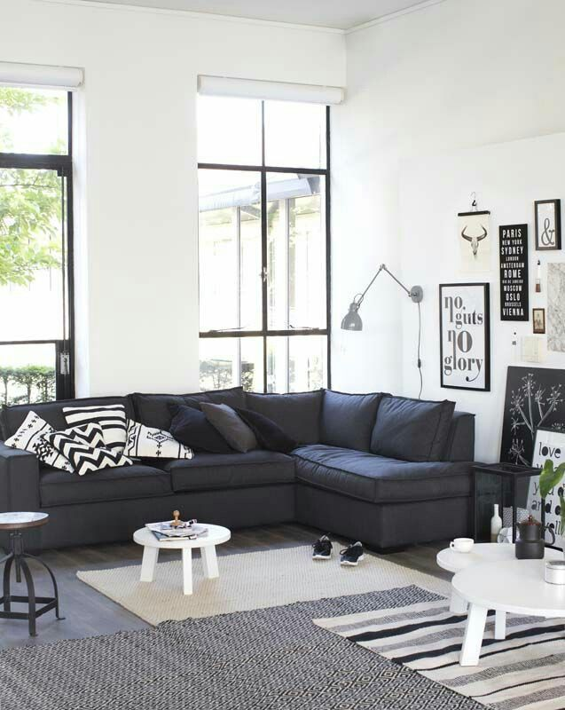 Pin By Tommy Cheng On Modern Interior Black And White Living Room Living Room White White Living Room