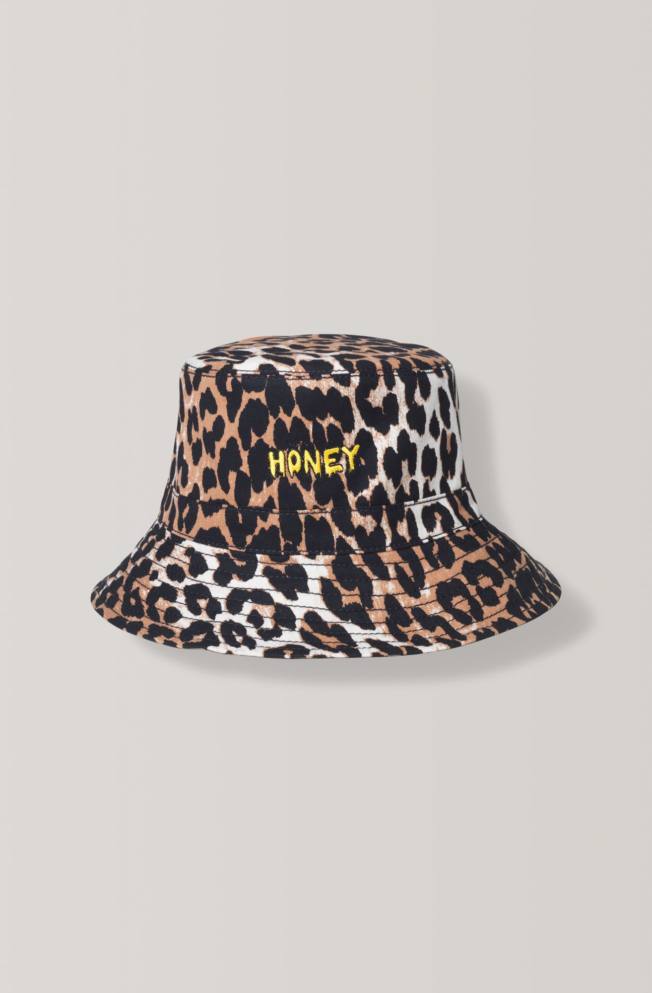 586f07d90715 Soft bucket hat made from 100% cotton with embroidery in front. This item is