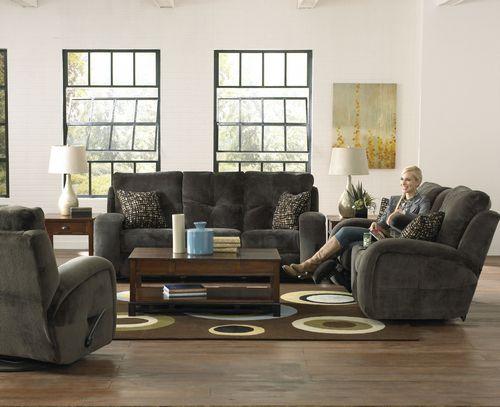 1571 | Catnapper Felton Reclining Sofa Charcoal | Big Sandy Superstores |