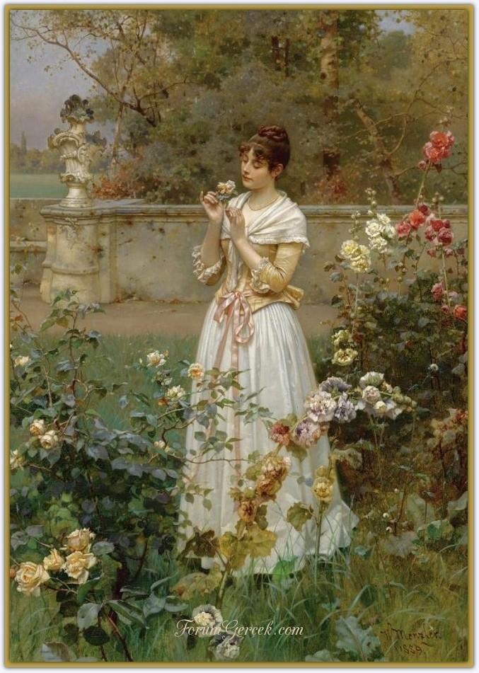 Wilhelm Menzler (1846 - 1926) | Alman Ressam - Forum Gerçek