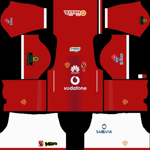 Dream League Soccer Kits Alahly Egypt With Logo Url 2017 2018 In 2021 Soccer Kits Football Kits Soccer