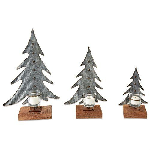 tin christmas tree votive candle holder set of 3 mp001 https www amazon com dp b0759s7sxq ref cm sw r pi dp x tz0eabpz732hm