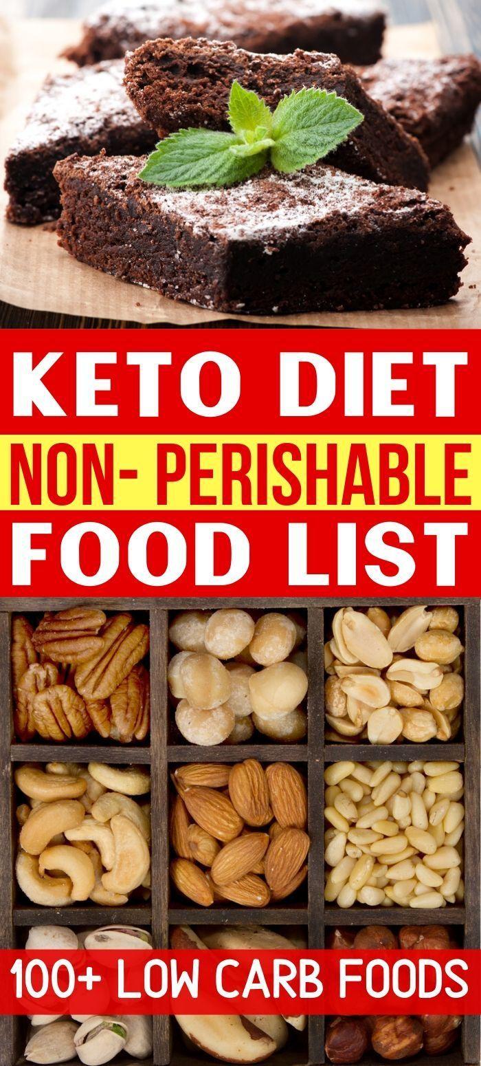 Keto NonPerishable Food List 120+ Low Carb Foods Savvy