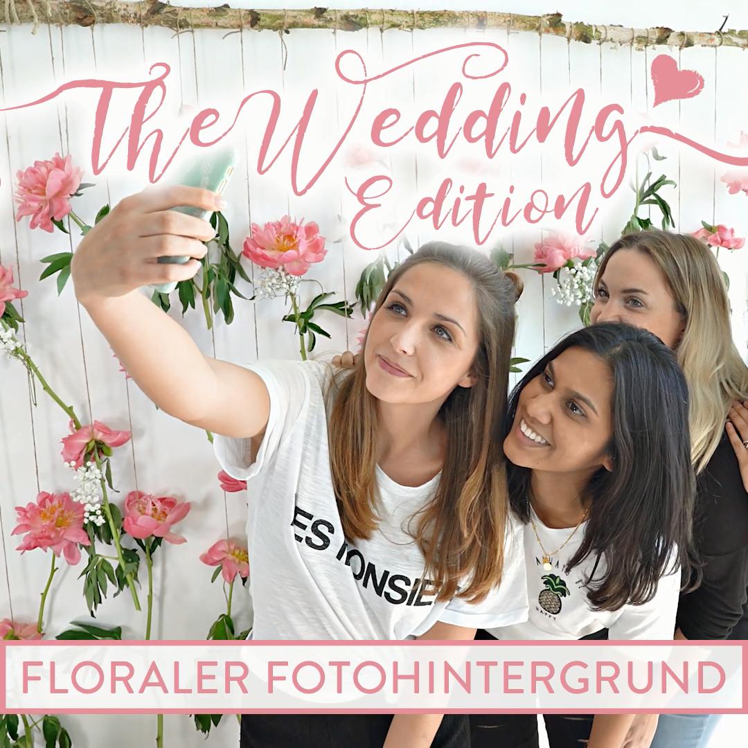 Photo of DIY Floraler Fotohintergrund