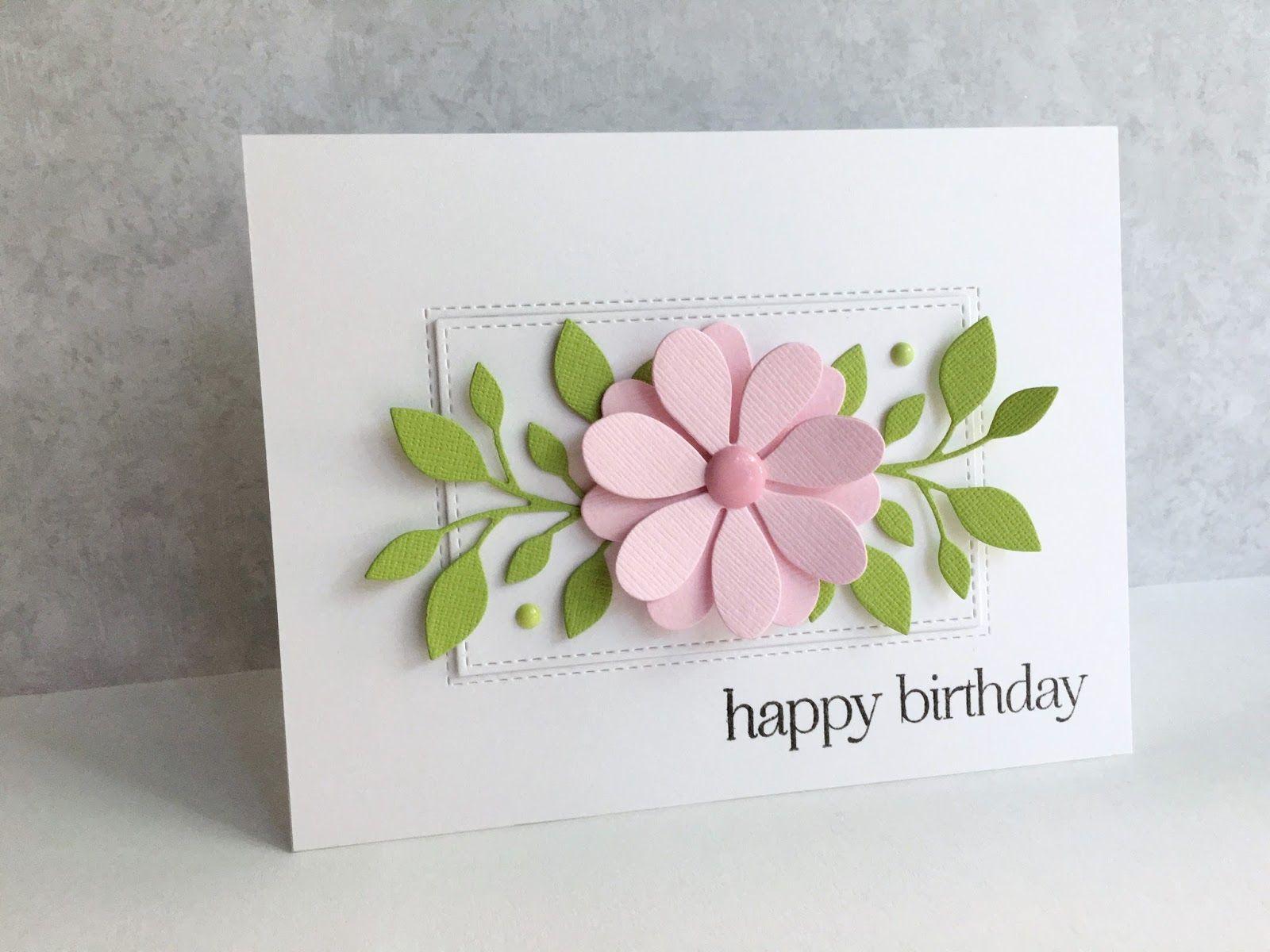 Ium in haven a birthday flower carterie pinterest stamps