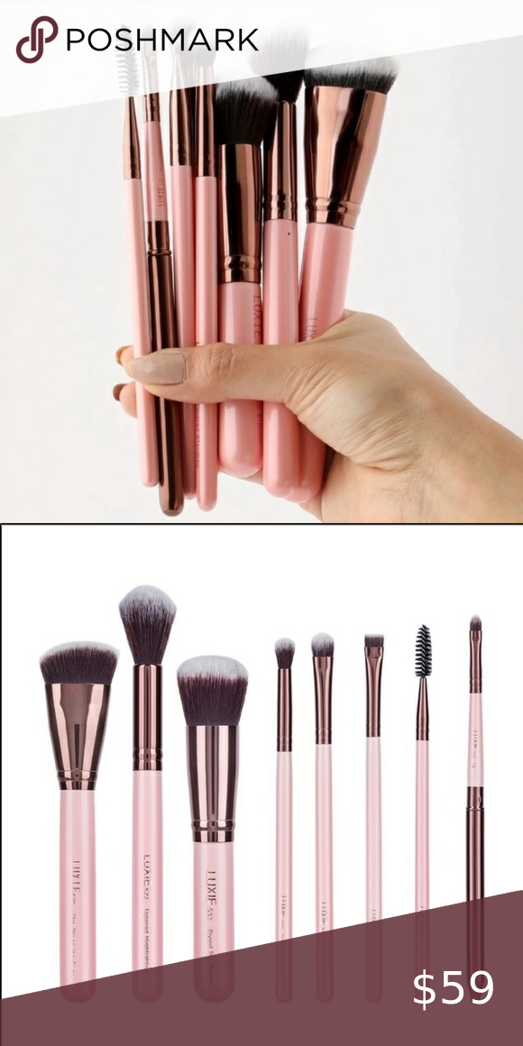 Luxie Complete Face Brush Set & DOC PALETTE NWT in 2020 ...