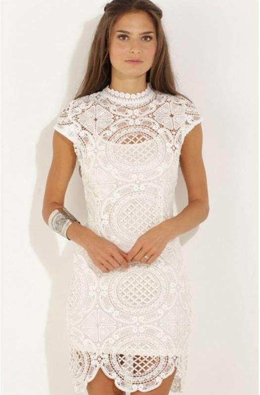 Vestido de renda curto comprar online
