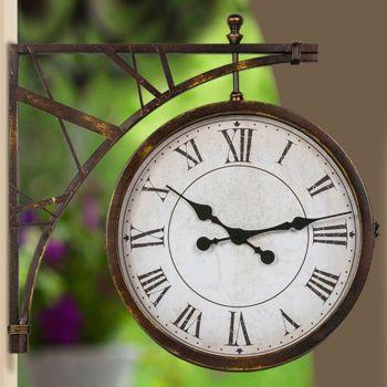 Casa Outdoor Clock Outdoor Clock Outdoor Wall Clocks Clock