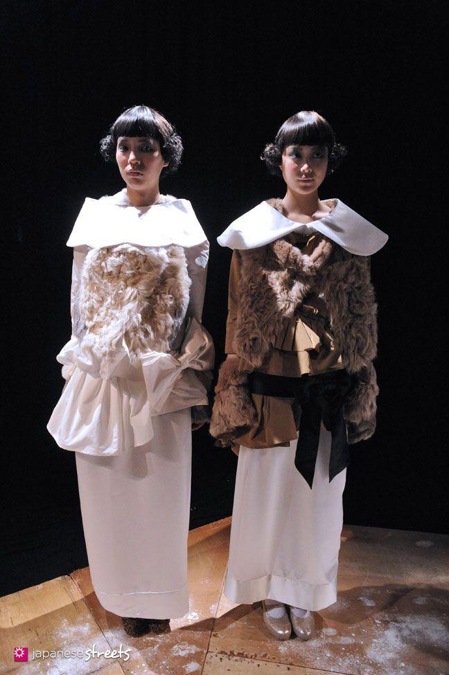 FASHION JAPAN: fur fur A/W 2012 (Japan Fashion Week)
