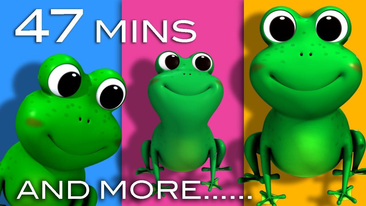 Five Little Speckled Frogs | And More Nursery Rhymes | 47 Minutes Compil...