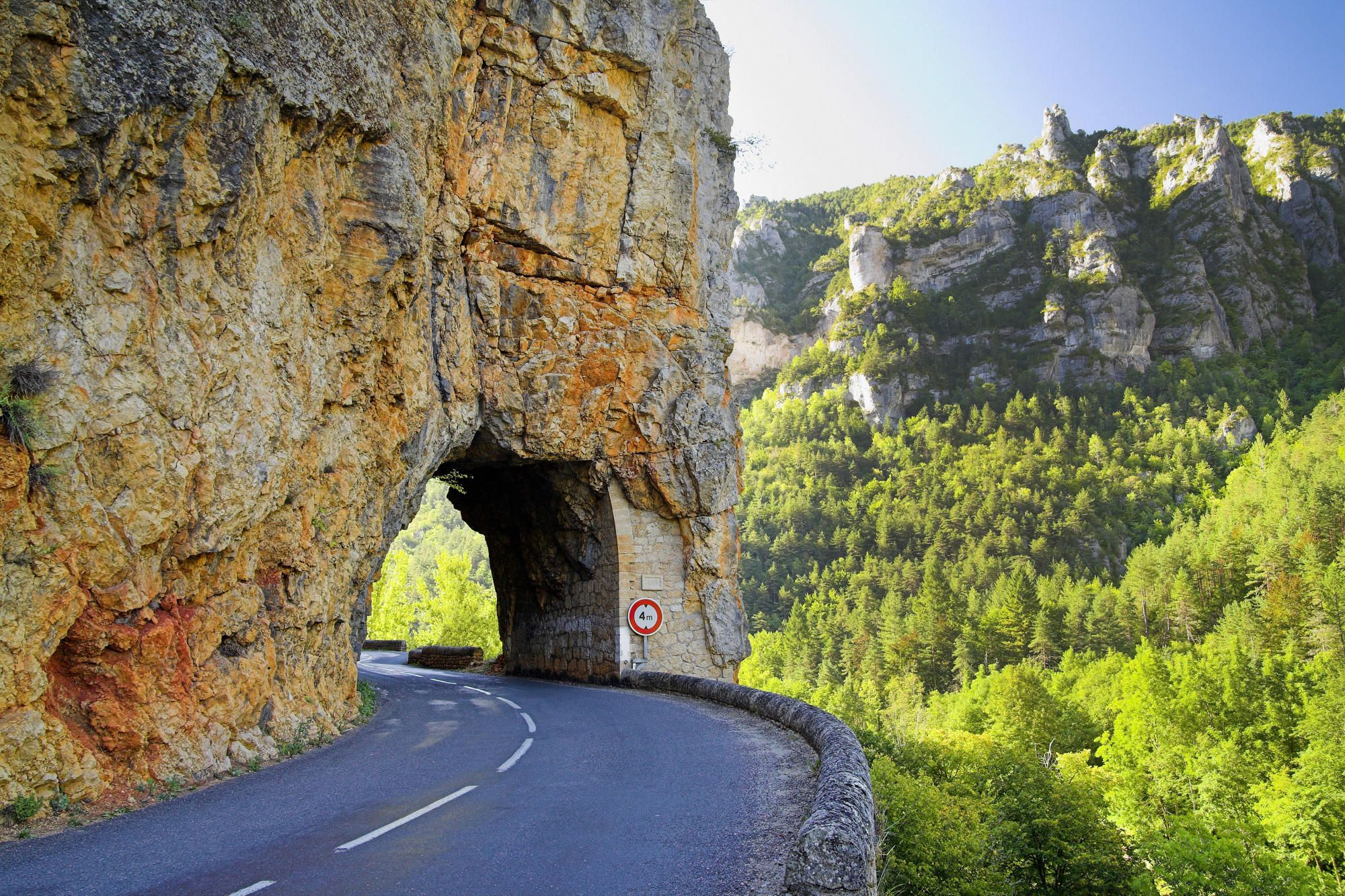 Gorges Du Tarn Cevennes National Park Languedoc Roussillon France Frankrijk Vakanties Reizen