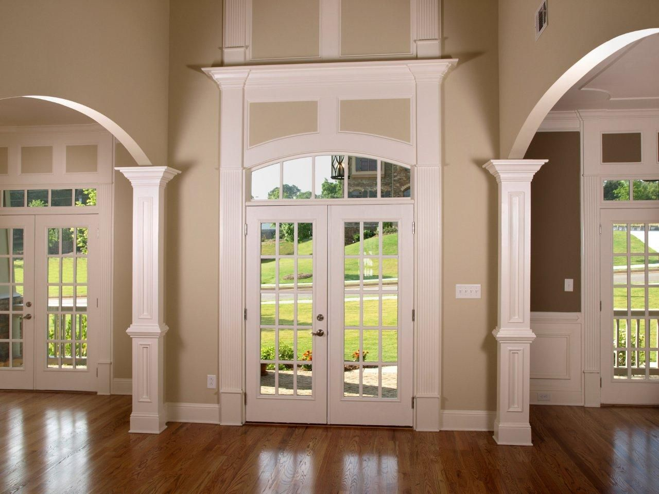 Great Interior French Doors With Transom Photo