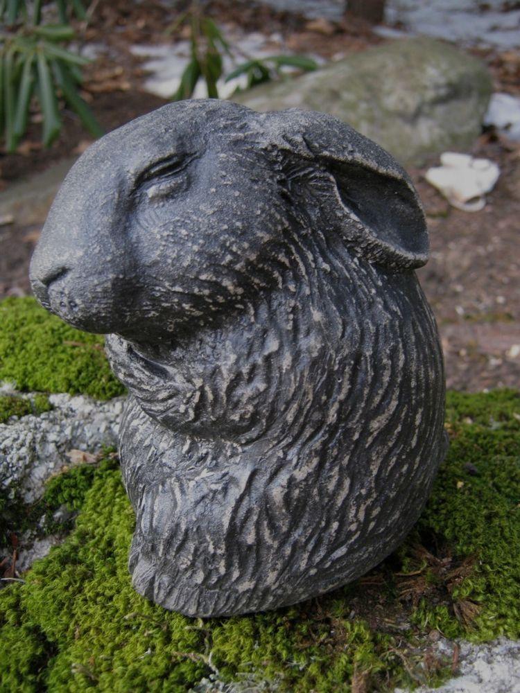 $34.95 + Free Shipping Bunny Rabbit Statue, Painted Rabbit