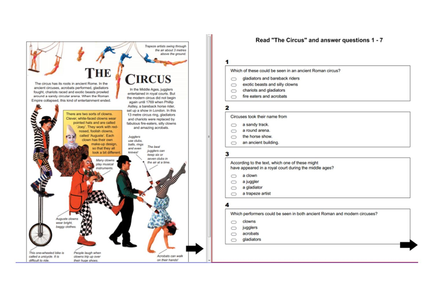 Year 5 Napaln Reading Practice Questions For Iwb