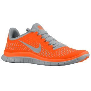 new styles cd8ce 2f5af Nike Free Run 3.0 V4 - Men s - Running - Shoes - Total Orange Reflect Silver  Wolf Grey