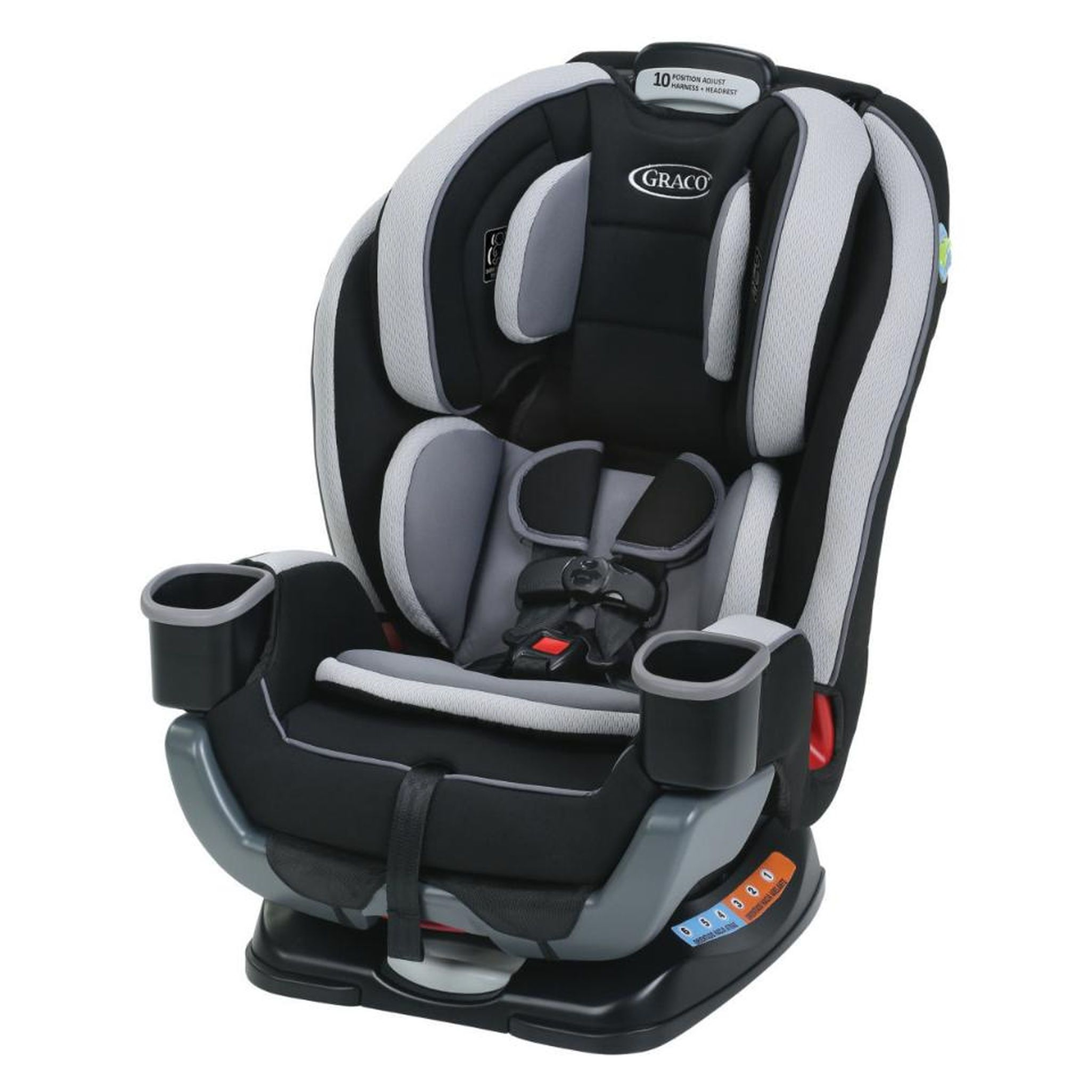 Graco Extend2Fit 3in1 Convertible Car Seat Garner