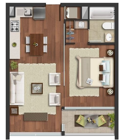 15 Best Studio Apartment Layout that Really Work