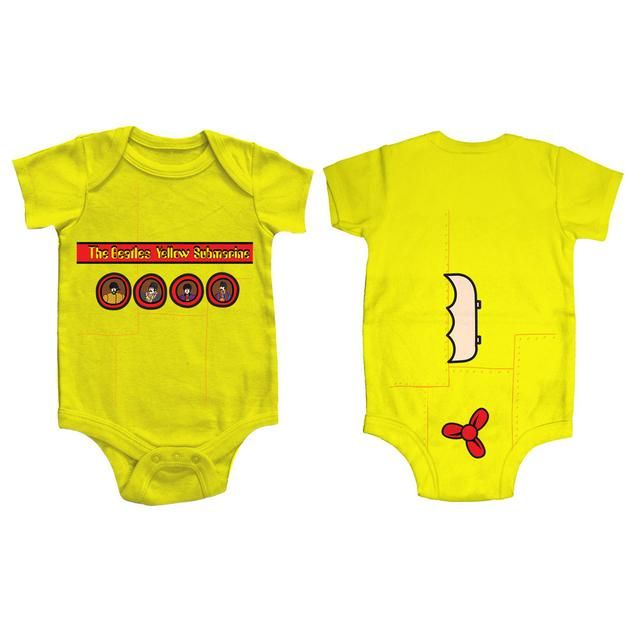 fec1e119a Check out The Beatles Yellow Submarine Portholes Onesie on @Merchbar ...