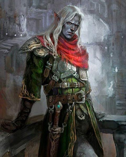 "76 Me gusta, 1 comentarios - @the_beduino en Instagram: ""Black Elf #fantasy #art #artist #artistic #color #colorful #colores #illustration #drawing #draw…"""