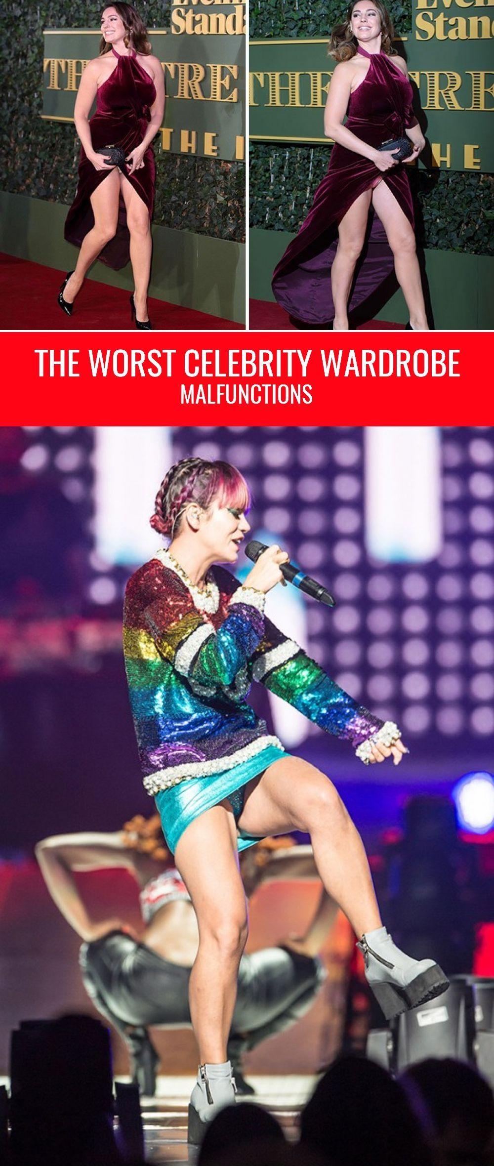 Worst wardrobe malfunction