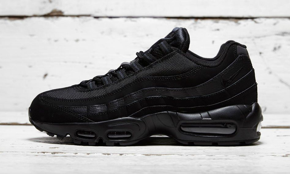 sports shoes 1df41 2923f Nike Air Max 95 Black