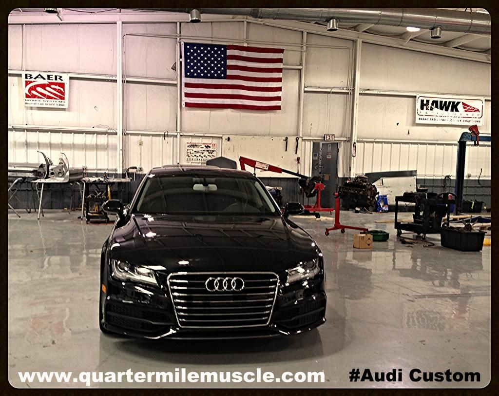 Custom Audi by Quarter Mile Muscle Inc. Contact us with your custom project car or truck. www.quartermilemuscle.com (704)664-9544 #Audi #Custom Car