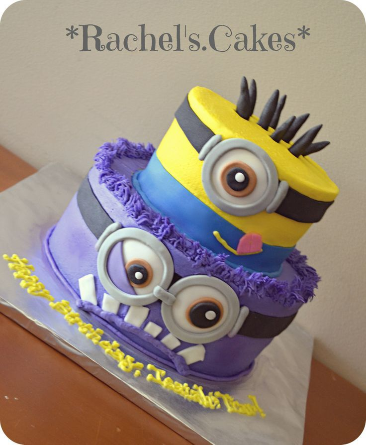 birthday cake pictures cartoon Despicable Me 2 Cakes Pinterest