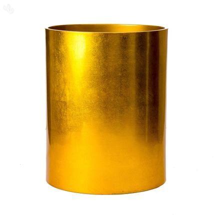 Kallos Cila Utility Basket - Metallic Gold
