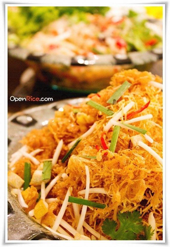Thai Crispy Noodle @ Buffet Bonanza, Bangkok... Don't miss it!!!!