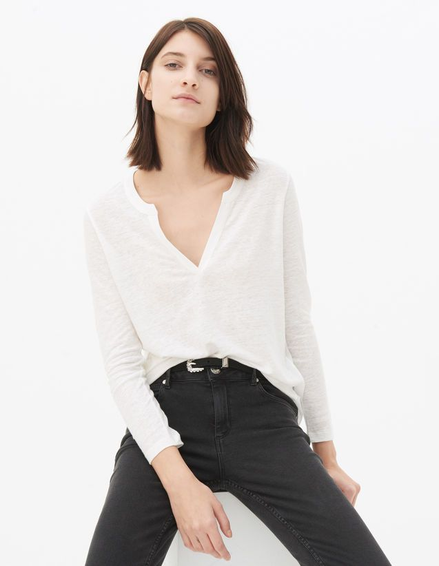 T-shirts - Woman - Sandro-paris.com