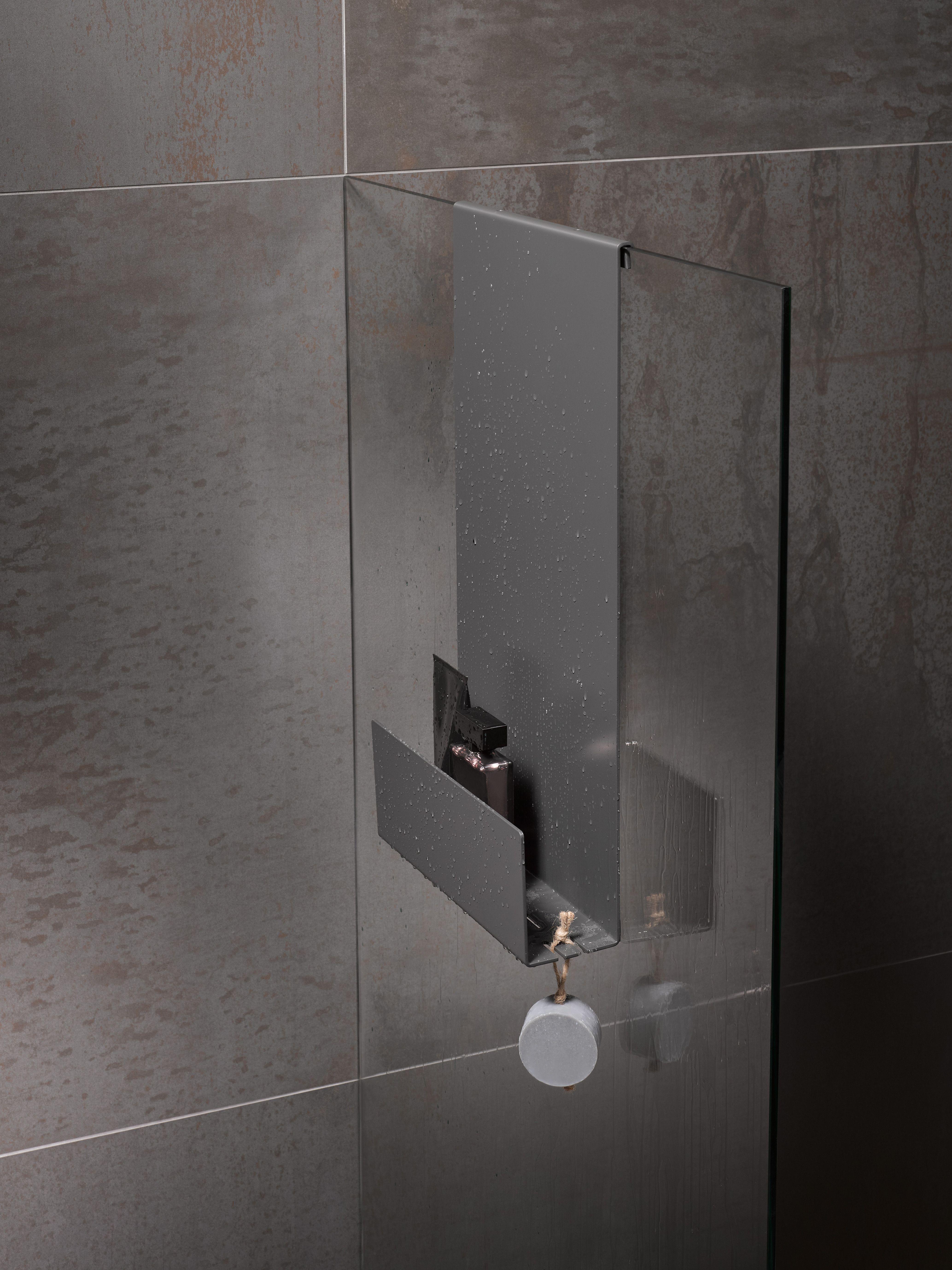 Keuco Shower Shelves For The Perfect Blend Between Storage Space And Design Douche Planken Design Badkamer Badkamerideeen