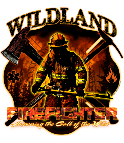 Wildland Firefighter Answering The Call Of The Wild Shirt Wildland Firefighter Wildland Firefighter Tattoo Firefighter Decals