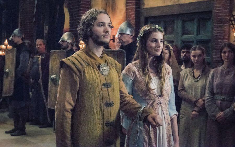 Aethelred And Aethelflaed The Last Kingdom Toby Regbo Millie