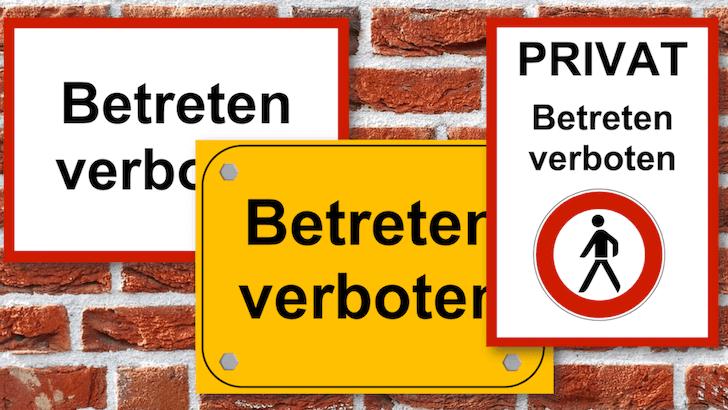 Betreten Verboten Schild Zum Ausdrucken Word Format Betreten Verboten Ausdrucken Betreten