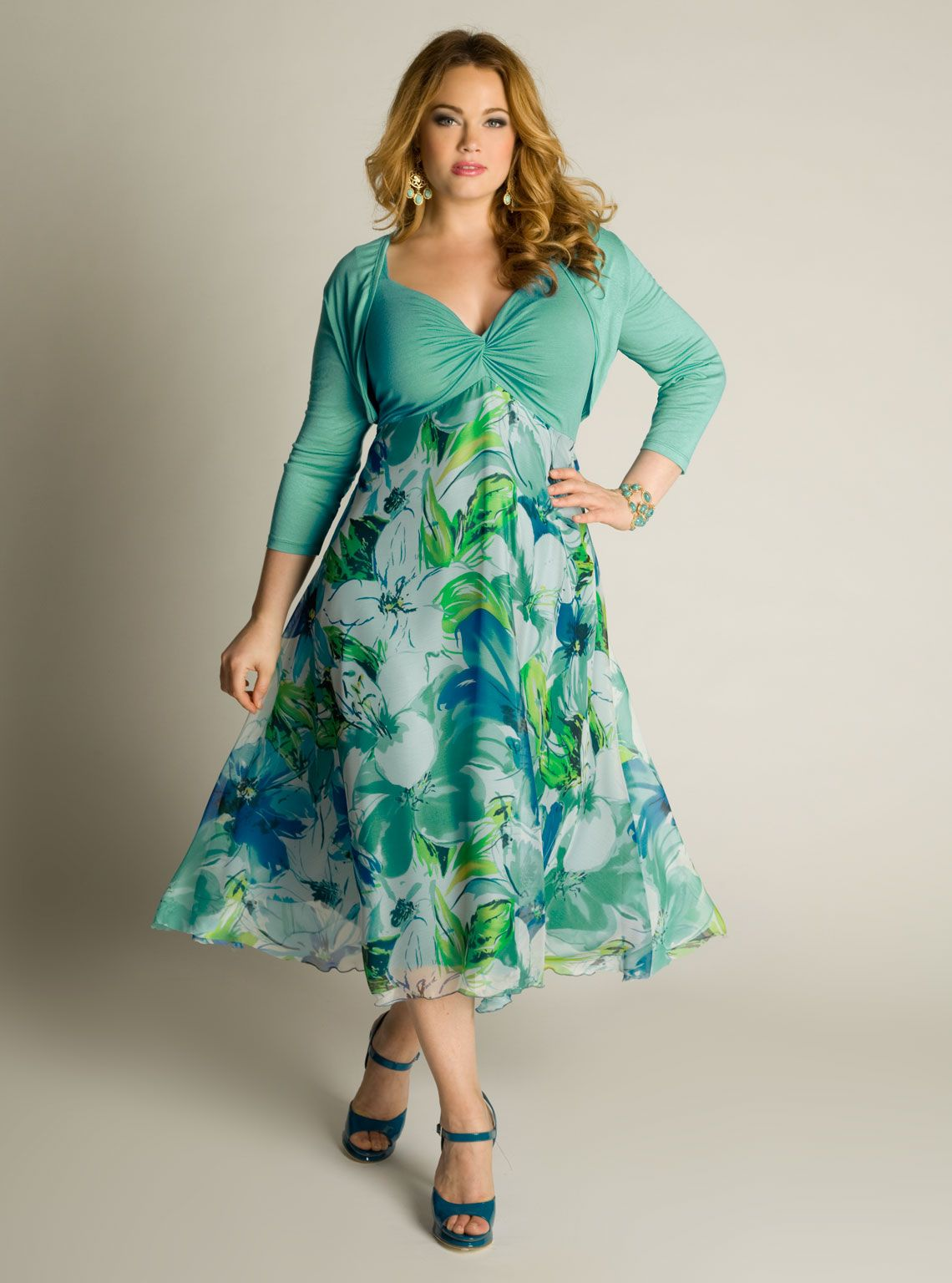Sun dress for plus size women | Things to Wear | Pinterest | Woman ...