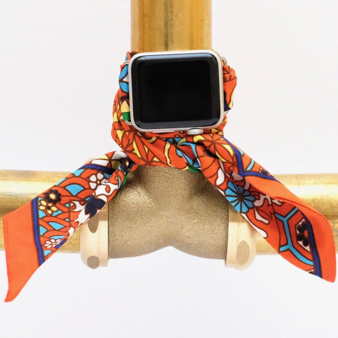 Turn Any Wristpop Scarf Into An Apple Watch Band Below Are Some